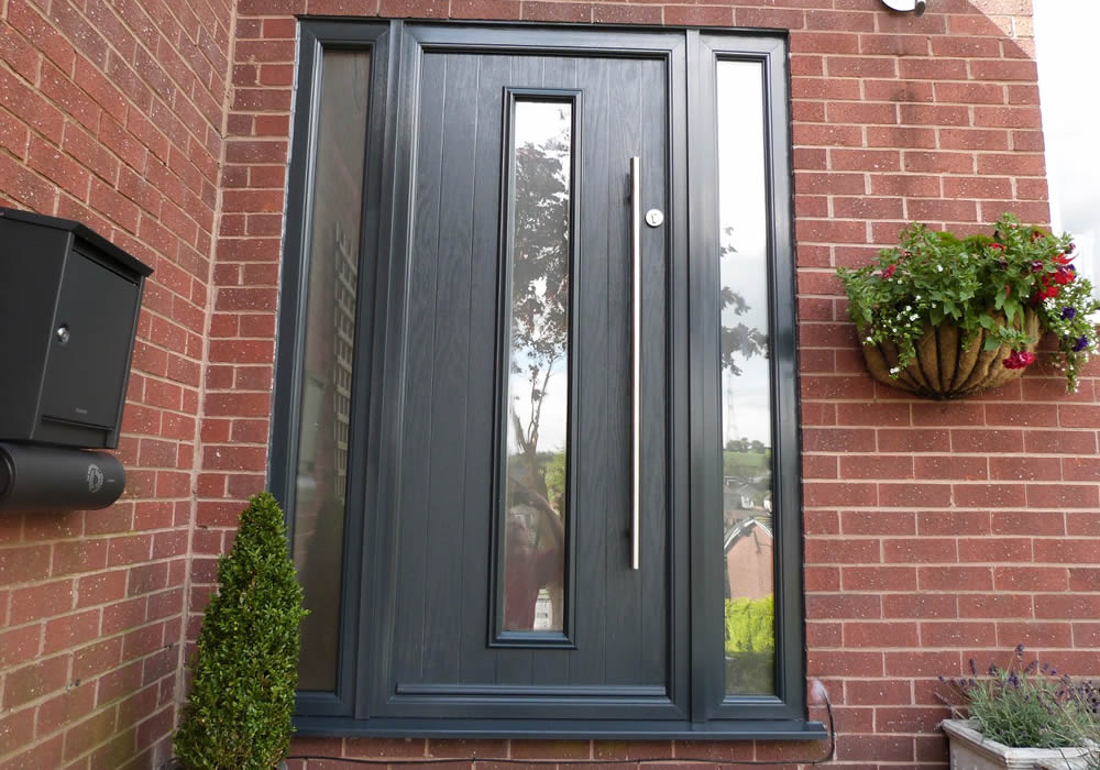 9d85519ab00 Our Kudos single rebate composite doors are the perfect upgrade to existing  PVCu entrance doors. They are manufactured with a high performance composite  ...